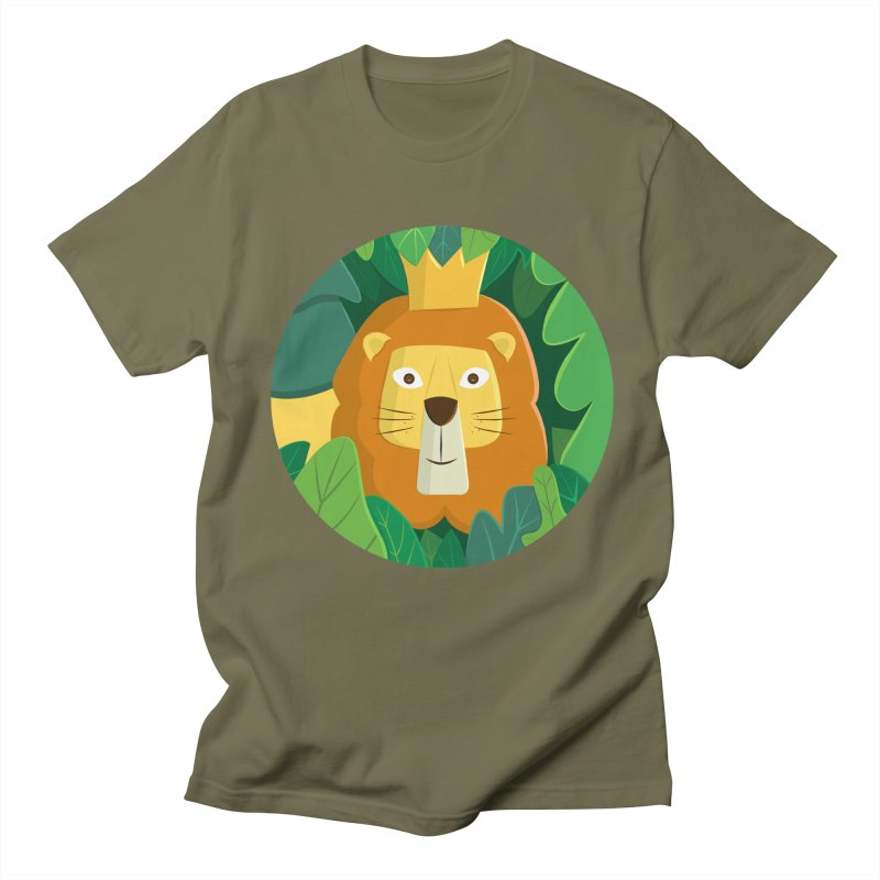 King of the Jungle Men's Regular T-Shirt by cartoonbeing's Artist Shop