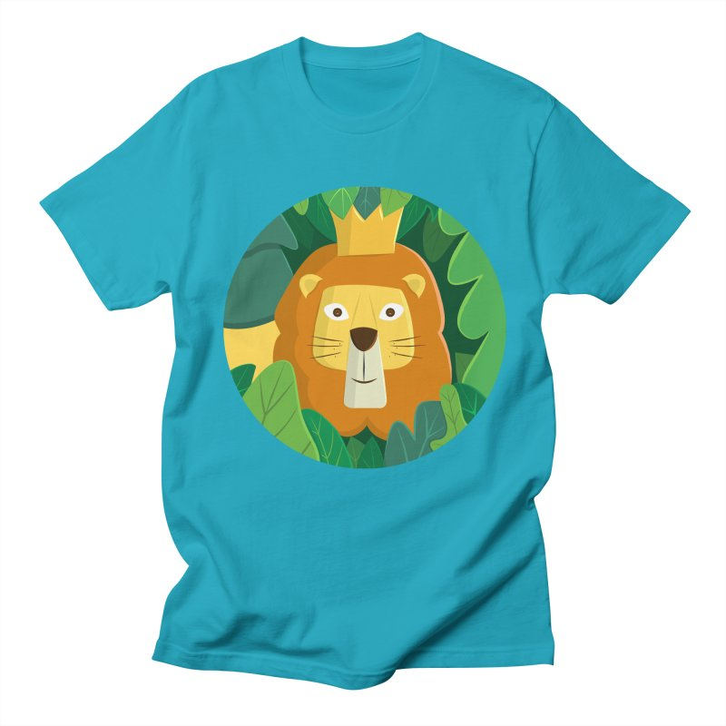 King of the Jungle Men's T-Shirt by cartoonbeing's Artist Shop