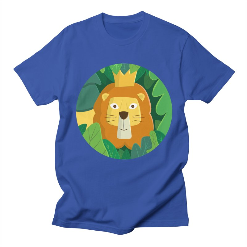 King of the Jungle Men's T-Shirt by cartoonbeing's Artist Shop