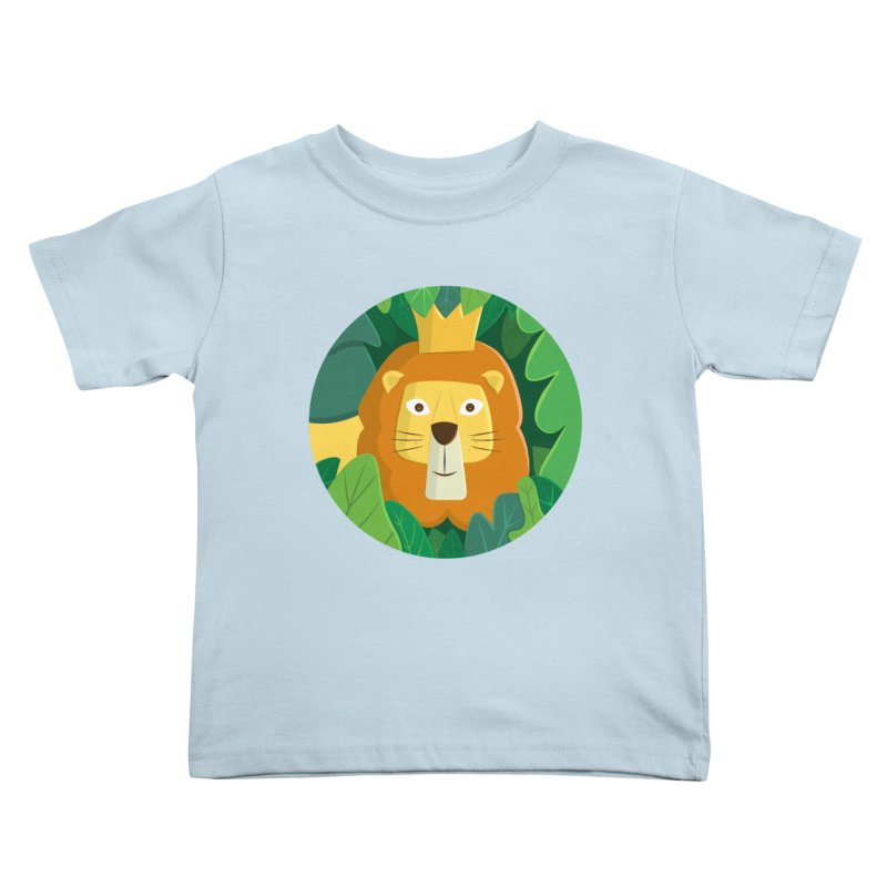King of the Jungle Kids Toddler T-Shirt by cartoonbeing's Artist Shop