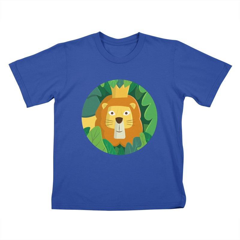 King of the Jungle Kids T-Shirt by cartoonbeing's Artist Shop