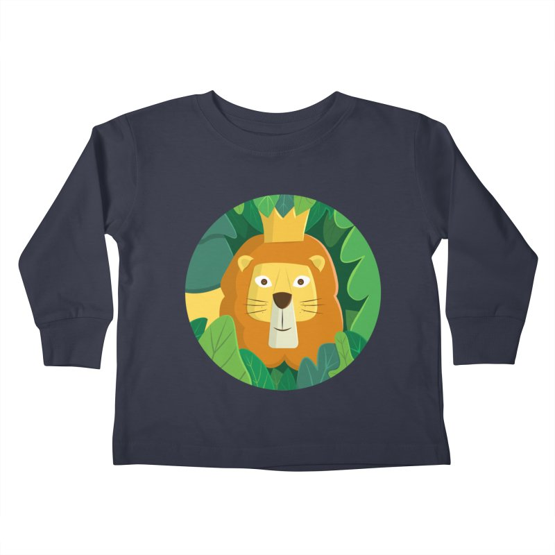 King of the Jungle Kids Toddler Longsleeve T-Shirt by cartoonbeing's Artist Shop