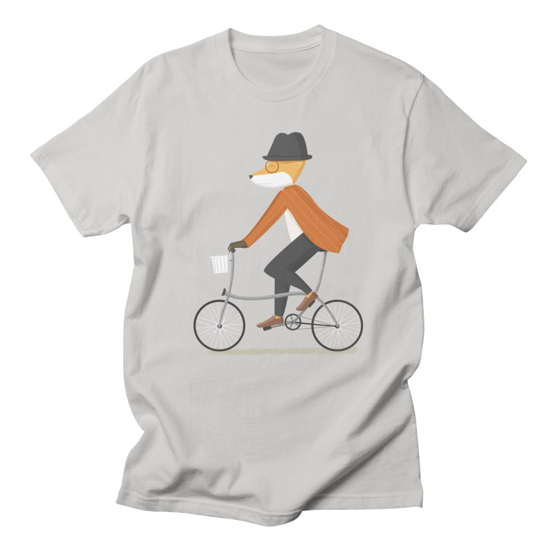 Mr. Fox is on His Way Men's T-Shirt by cartoonbeing's Artist Shop