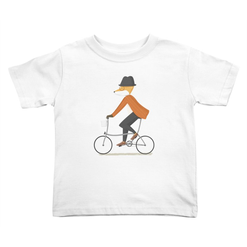 Mr. Fox is on His Way Kids Toddler T-Shirt by cartoonbeing's Artist Shop