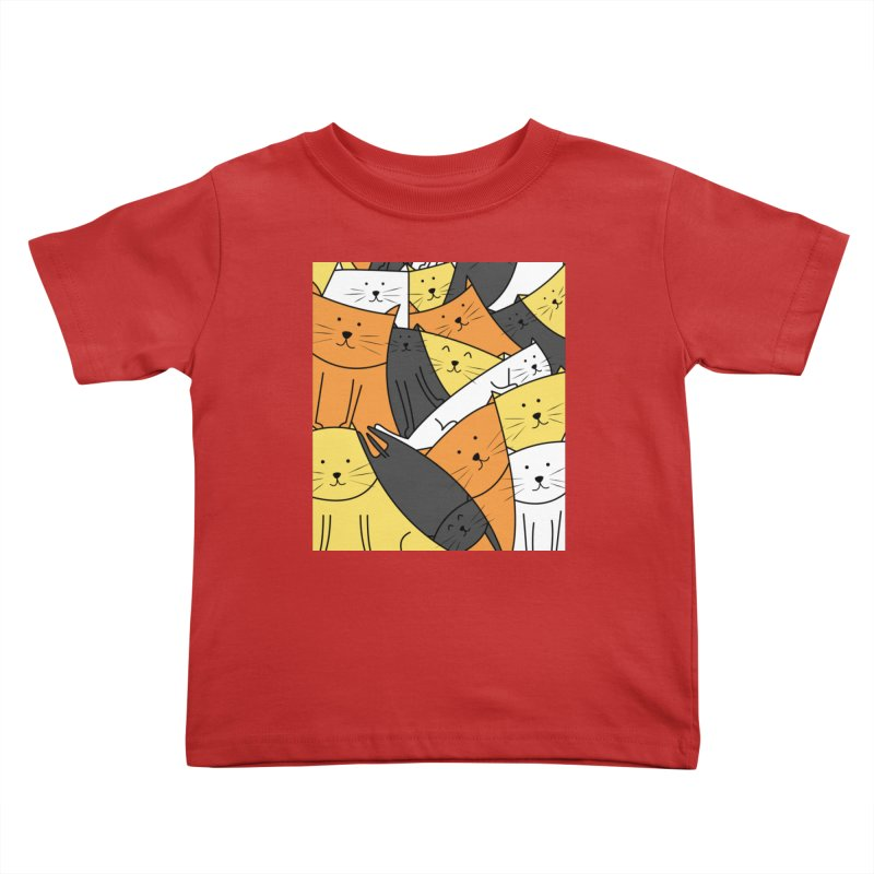 The Cats are Watching Kids Toddler T-Shirt by cartoonbeing's Artist Shop