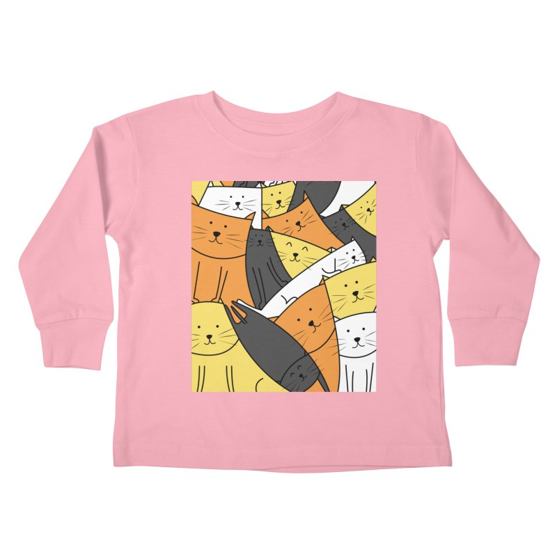 The Cats are Watching Kids Toddler Longsleeve T-Shirt by cartoonbeing's Artist Shop