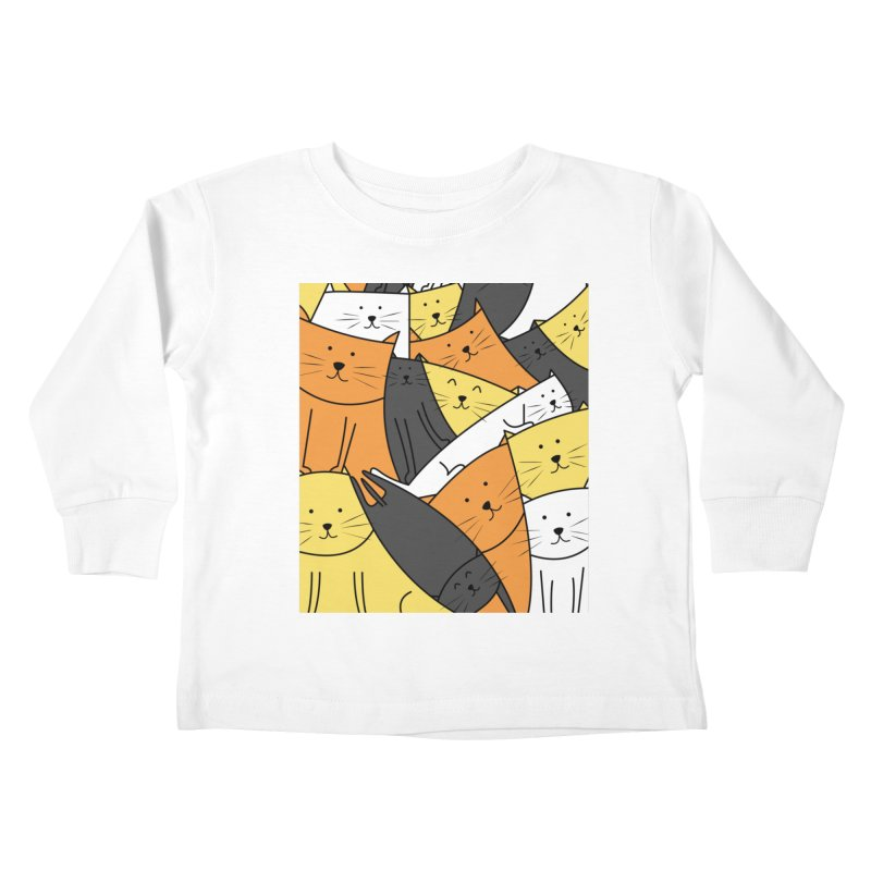 The Cats are Watching Kids Toddler Longsleeve T-Shirt by cartoonbeing's Artist Shop