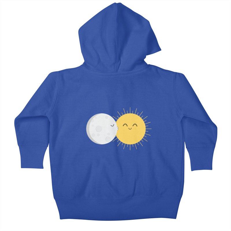 I Love You Sun! Kids Baby Zip-Up Hoody by cartoonbeing's Artist Shop
