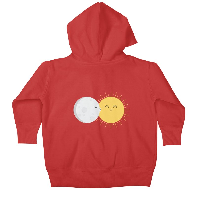 I Love You Sun! Kids Baby Zip-Up Hoody by cartoonbeing's Artist Shop