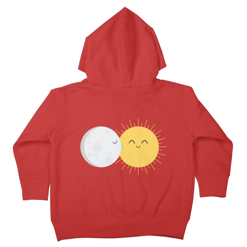 I Love You Sun! Kids Toddler Zip-Up Hoody by cartoonbeing's Artist Shop