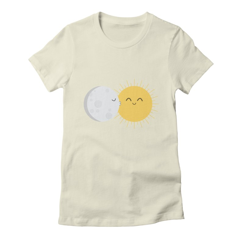 I Love You Sun! Women's Fitted T-Shirt by cartoonbeing's Artist Shop