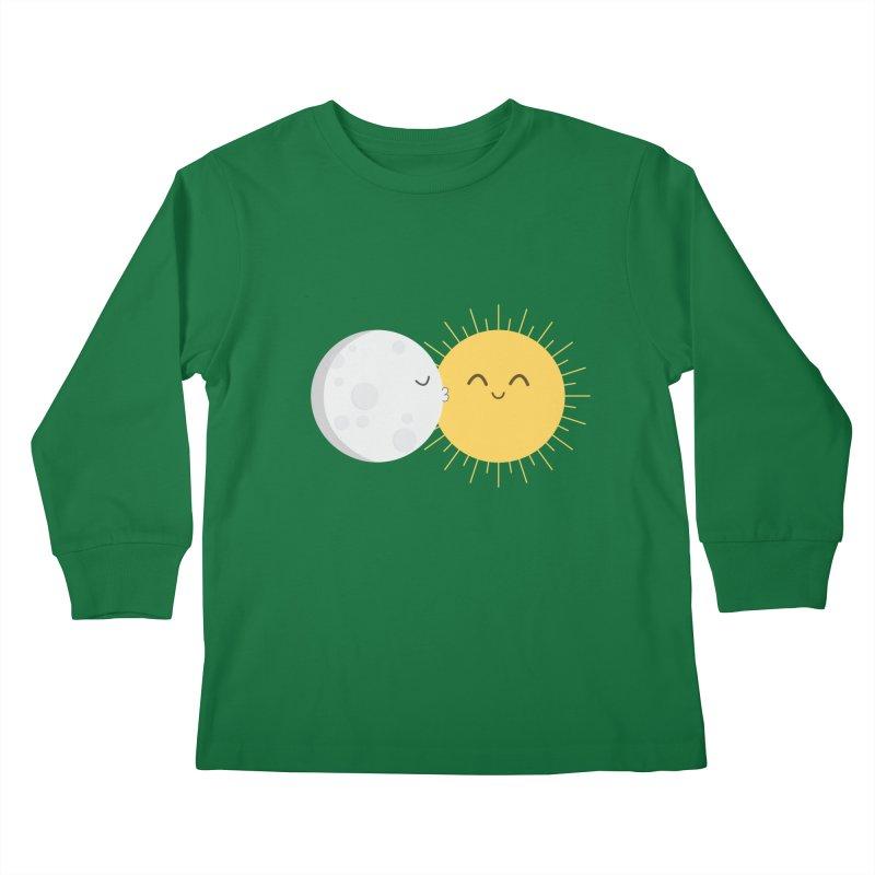 I Love You Sun! Kids Longsleeve T-Shirt by cartoonbeing's Artist Shop
