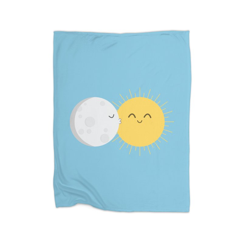 I Love You Sun! Home Fleece Blanket Blanket by cartoonbeing's Artist Shop