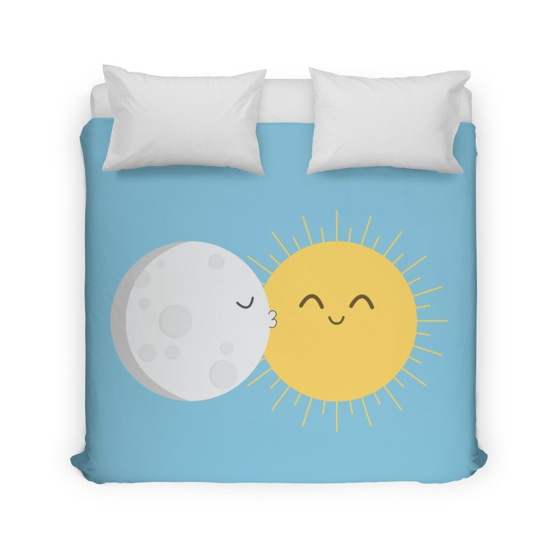 I Love You Sun! Home Duvet by cartoonbeing's Artist Shop