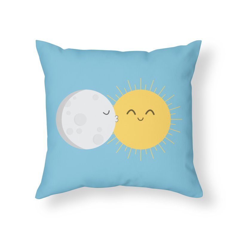 I Love You Sun! Home Throw Pillow by cartoonbeing's Artist Shop