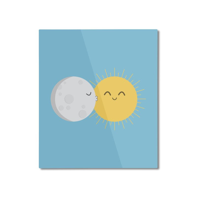 I Love You Sun! Home Mounted Aluminum Print by cartoonbeing's Artist Shop