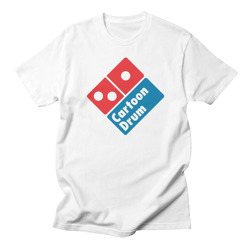 Pizza Time! in Men's T-shirt White by Cartoondrum's Artist Shop