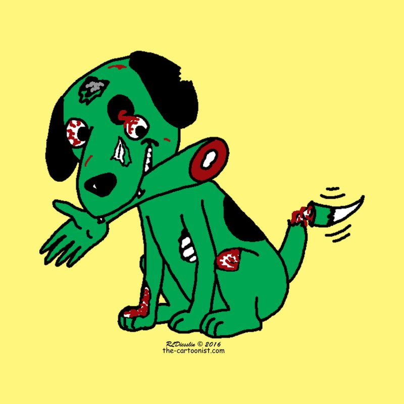Zombie Dog by The Cartoonist's Shop