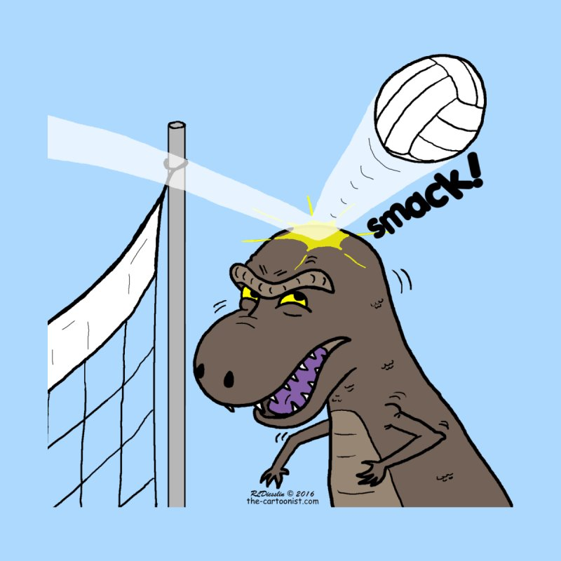 Why T-Rexes Do Not Like Volleyball by The Cartoonist's Shop