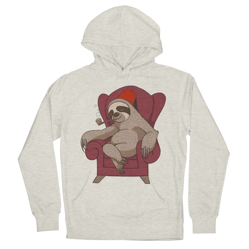 Sophisticated Sloth Men's Pullover Hoody by cartoonowl's Artist Shop