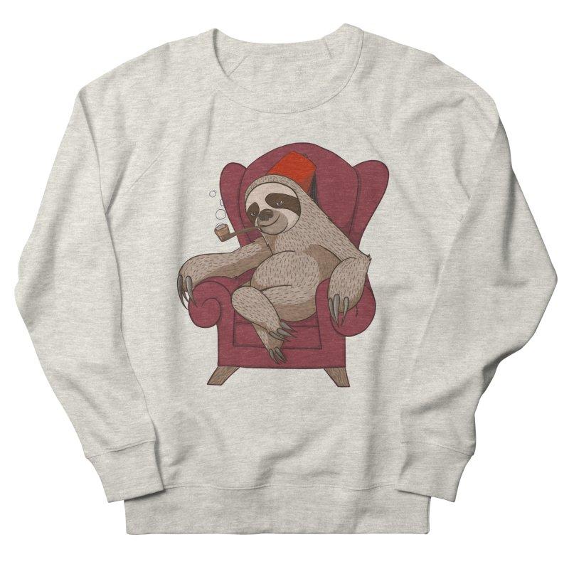 Sophisticated Sloth Men's Sweatshirt by cartoonowl's Artist Shop