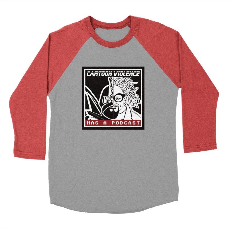 Cartoon Violence Has A Podcast Men's Longsleeve T-Shirt by Shirts by Cartoon Violence