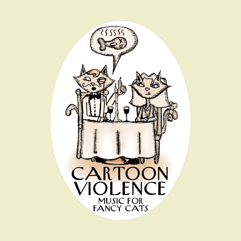 Fancy Cats Mew Yorker Women's Scoop Neck by Shirts by Cartoon Violence