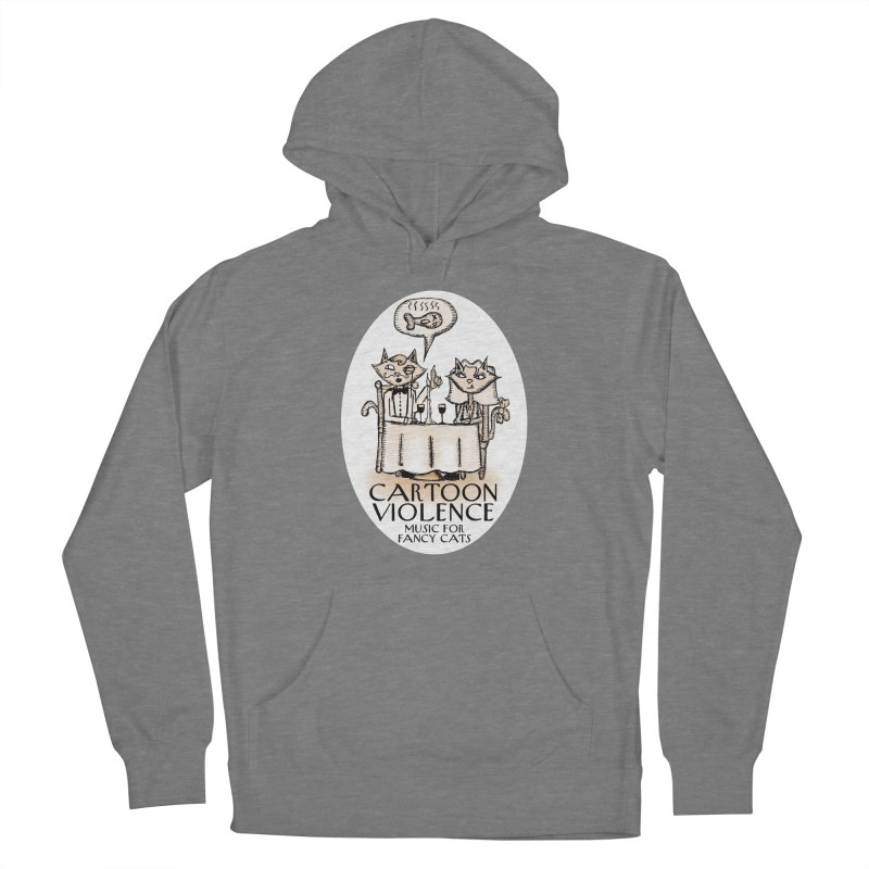 Fancy Cats Mew Yorker Women's Pullover Hoody by Shirts by Cartoon Violence