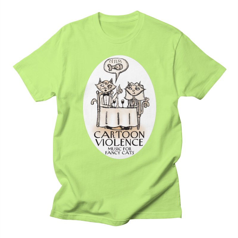 Fancy Cats Mew Yorker Men's T-Shirt by Shirts by Cartoon Violence
