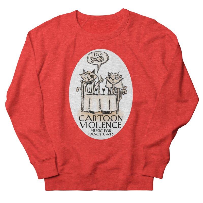 Fancy Cats Mew Yorker Men's Sweatshirt by Shirts by Cartoon Violence