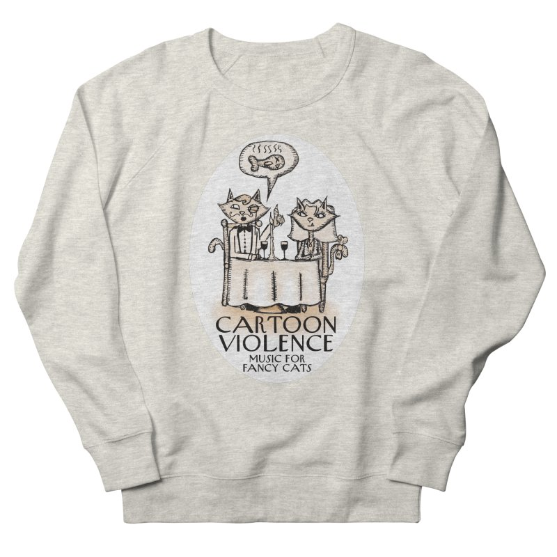 Fancy Cats Mew Yorker Men's Sweatshirt by Shirts by Cartoon Violence