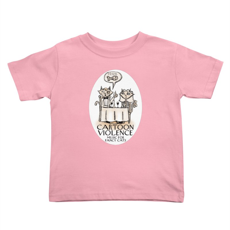 Fancy Cats Mew Yorker Kids Toddler T-Shirt by Shirts by Cartoon Violence