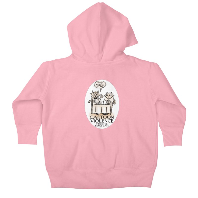Fancy Cats Mew Yorker Kids Baby Zip-Up Hoody by Shirts by Cartoon Violence