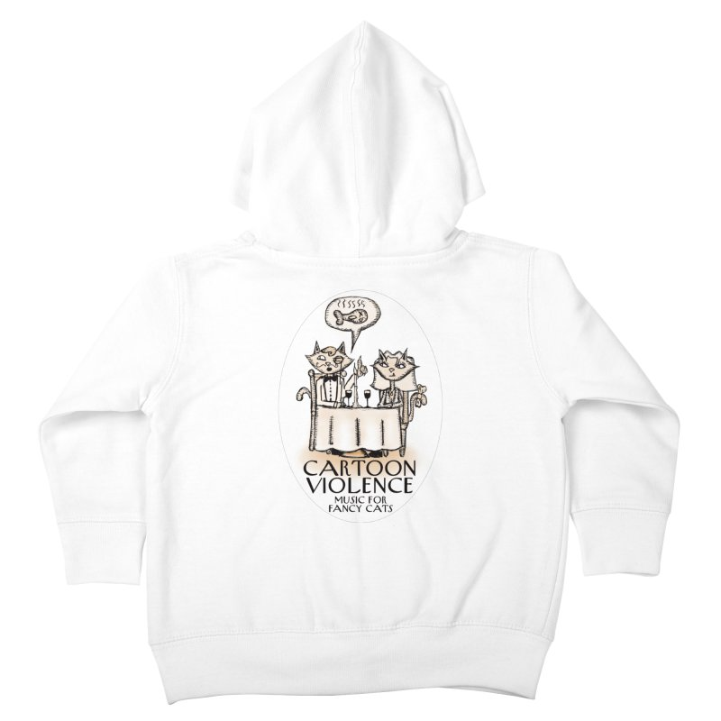 Fancy Cats Mew Yorker Kids Toddler Zip-Up Hoody by Shirts by Cartoon Violence