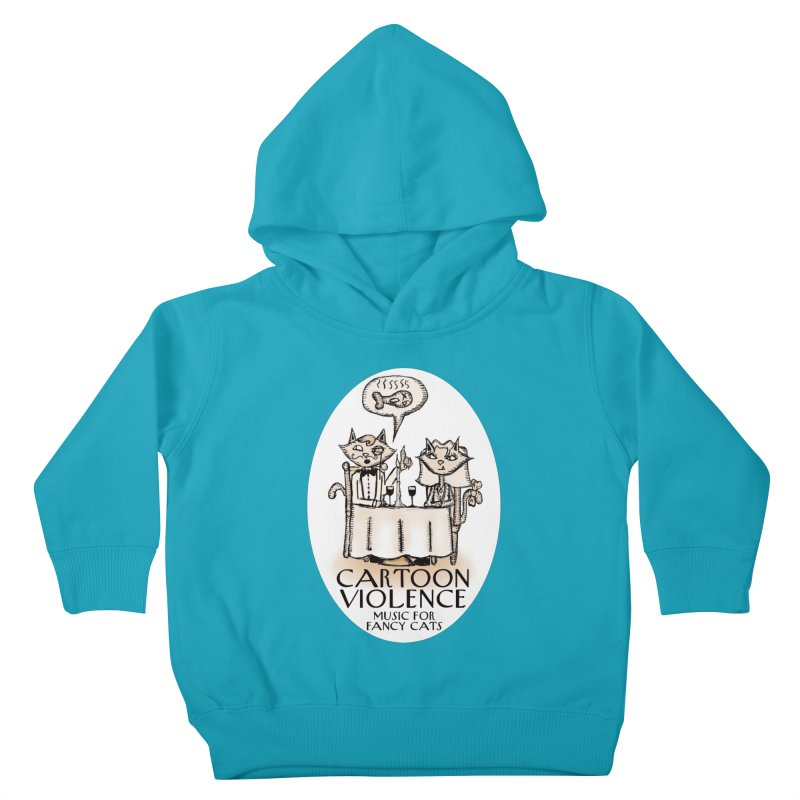 Fancy Cats Mew Yorker Kids Toddler Pullover Hoody by Shirts by Cartoon Violence