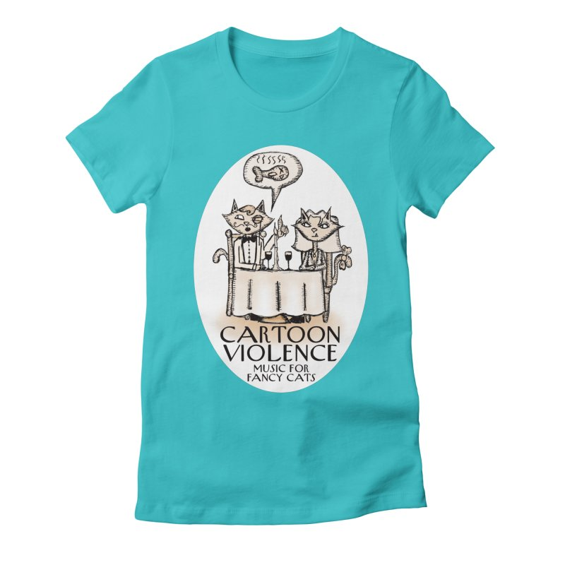 Fancy Cats Mew Yorker Women's T-Shirt by Shirts by Cartoon Violence