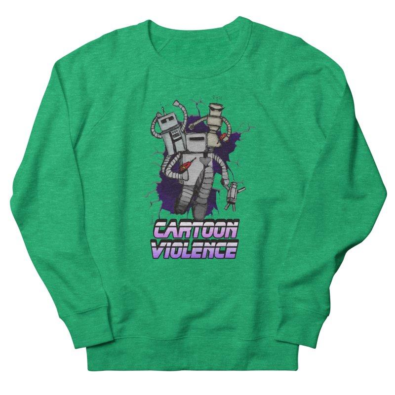 Night Of 1000 Robots Women's Sweatshirt by Shirts by Cartoon Violence