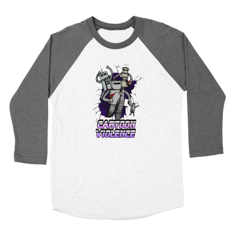 Night Of 1000 Robots Women's Longsleeve T-Shirt by Shirts by Cartoon Violence