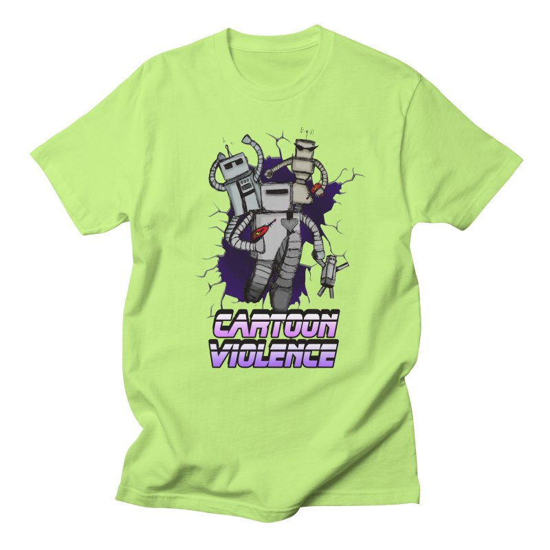 Night Of 1000 Robots Men's T-Shirt by Shirts by Cartoon Violence