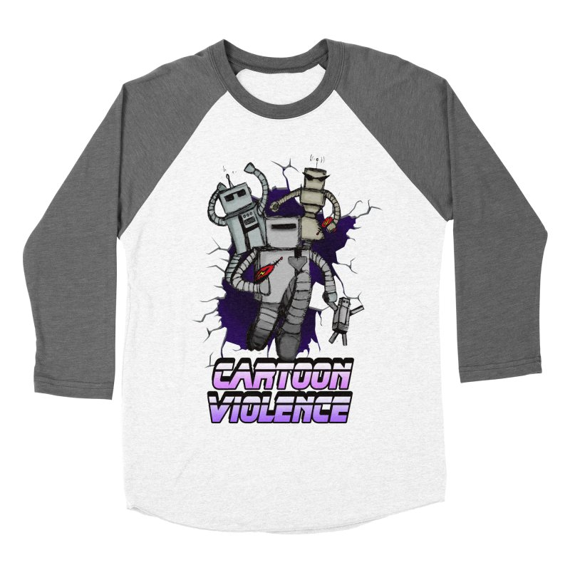 Night Of 1000 Robots Women's Longsleeve T-Shirt by Shirts by Cartoon Violence