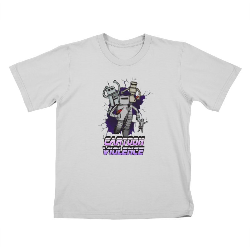 Night Of 1000 Robots Kids T-Shirt by Shirts by Cartoon Violence