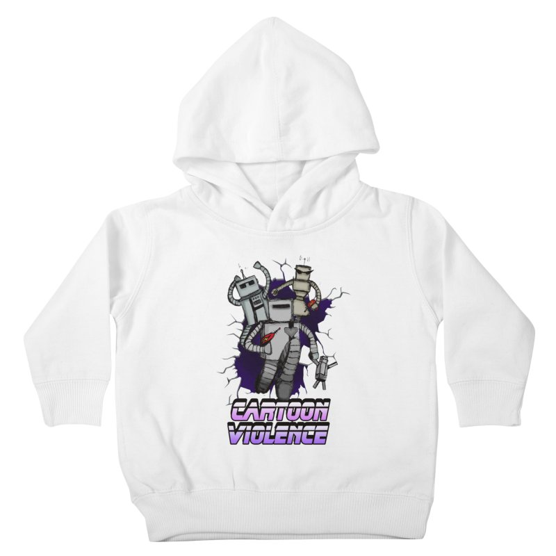 Night Of 1000 Robots Kids Toddler Pullover Hoody by Shirts by Cartoon Violence