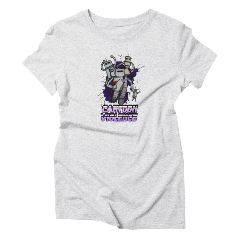 Night Of 1000 Robots Women's T-Shirt by Shirts by Cartoon Violence