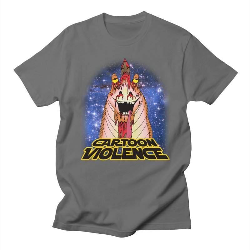 Jar Jar's Stupid Head Men's T-Shirt by Shirts by Cartoon Violence