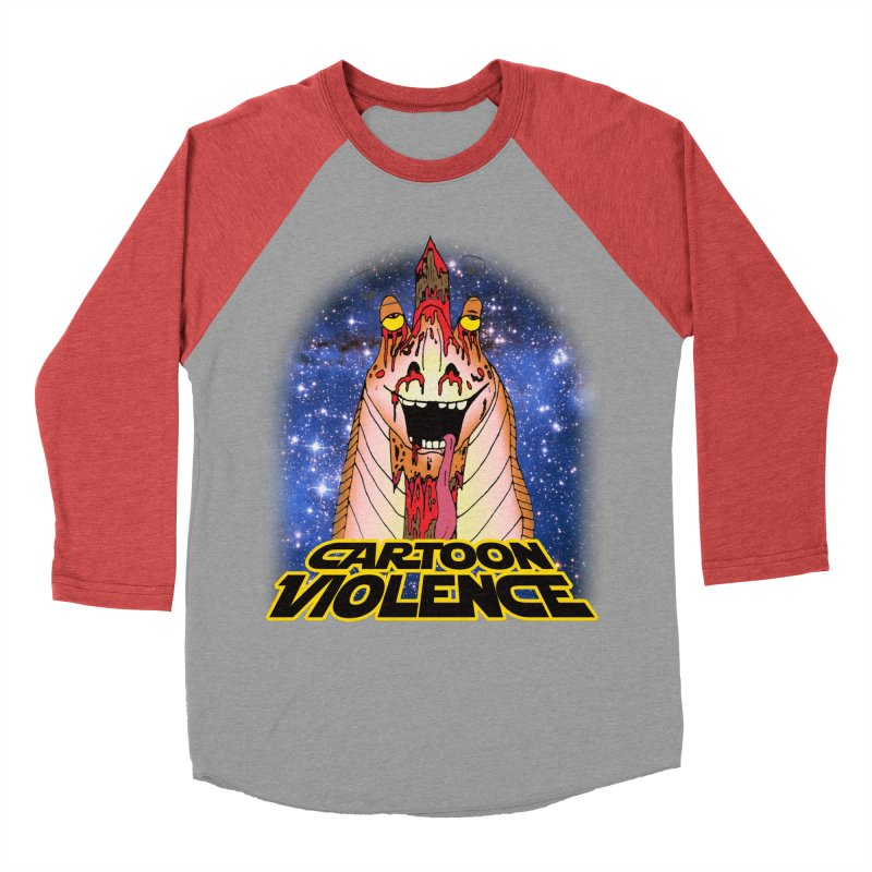 Jar Jar's Stupid Head Men's Longsleeve T-Shirt by Shirts by Cartoon Violence