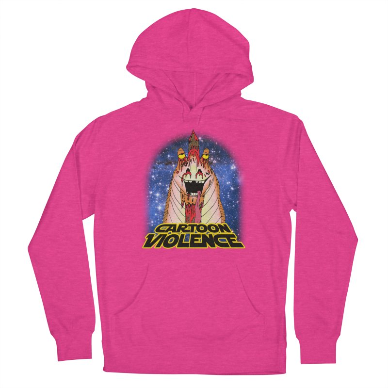 Jar Jar's Stupid Head Women's Pullover Hoody by Shirts by Cartoon Violence
