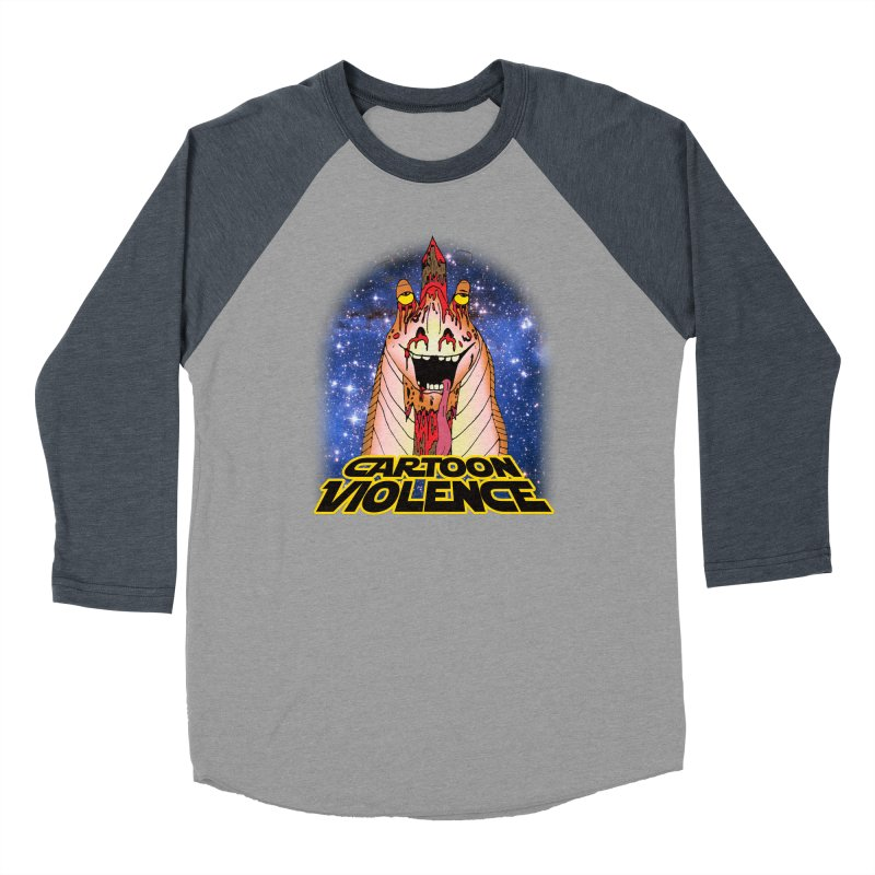 Jar Jar's Stupid Head Women's Longsleeve T-Shirt by Shirts by Cartoon Violence