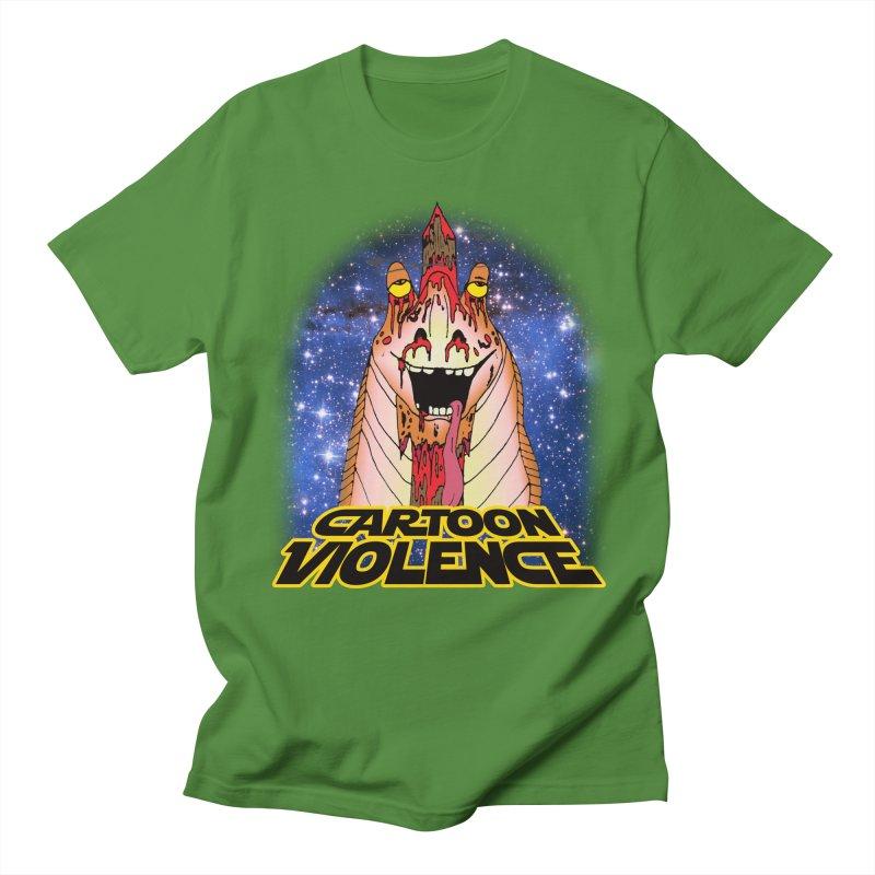 Jar Jar's Stupid Head Men's Regular T-Shirt by Shirts by Cartoon Violence