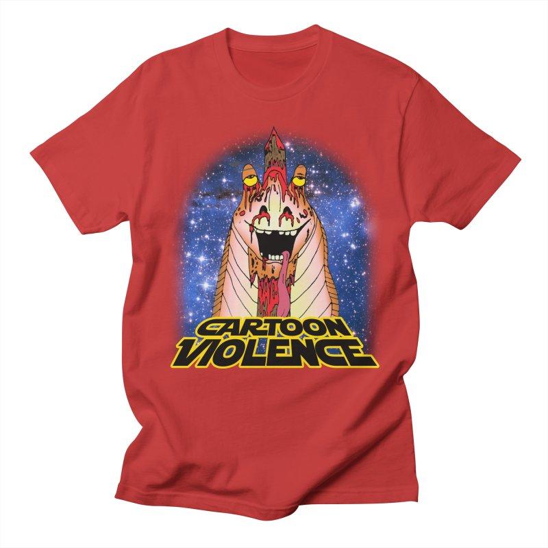 Jar Jar's Stupid Head Men's T-Shirt by Shirts by Cartoon Violence