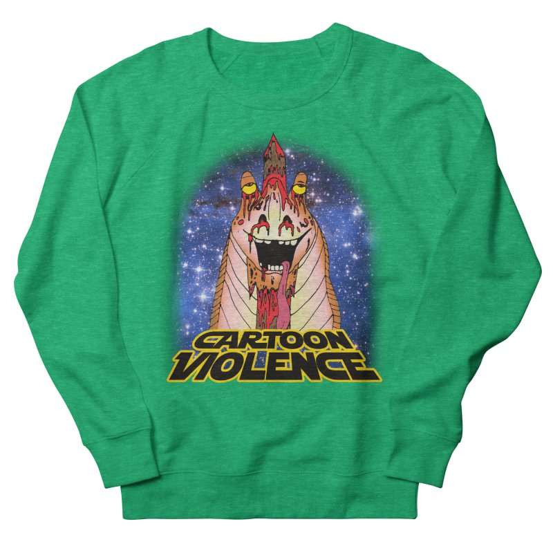 Jar Jar's Stupid Head Women's Sweatshirt by Shirts by Cartoon Violence